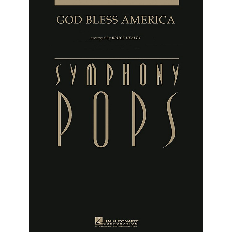 Hal LeonardGod Bless America (with opt. Narrator Score and Parts) Arranged by Bruce Healey