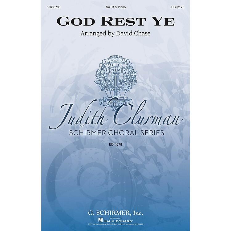 G. SchirmerGod Rest Ye (Judith Clurman Choral Series) SATB arranged by David Chase