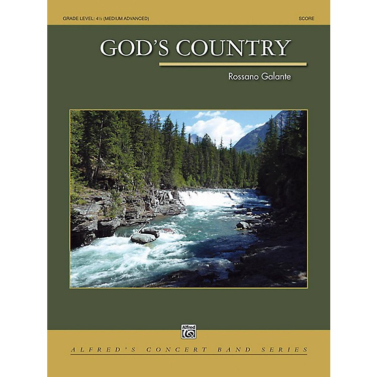 Alfred God's Country Concert Band Grade 4.5 Set