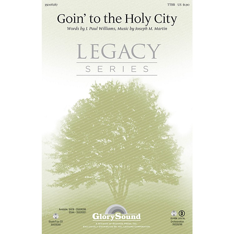 Shawnee PressGoin' to the Holy City TTBB composed by Joseph M. Martin