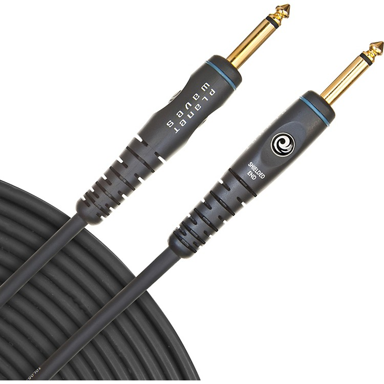 D'Addario Planet WavesGold-Plated 1/4