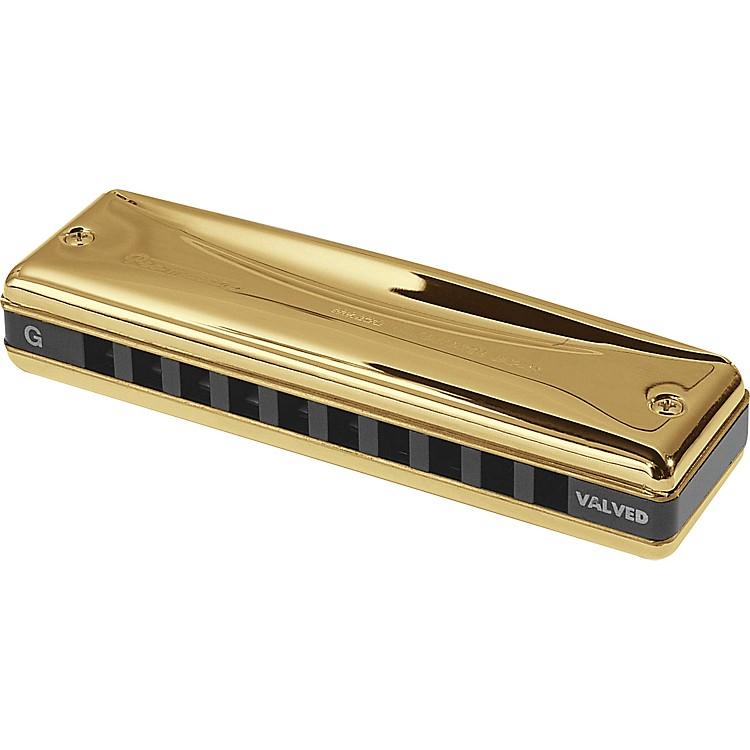 SuzukiGold Promaster Valved HarmonicaC