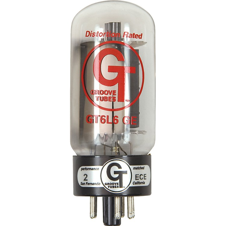 Groove TubesGold Series GT-6L6-GE Matched Power TubesLow ( 1-3 GT Rating)Duet