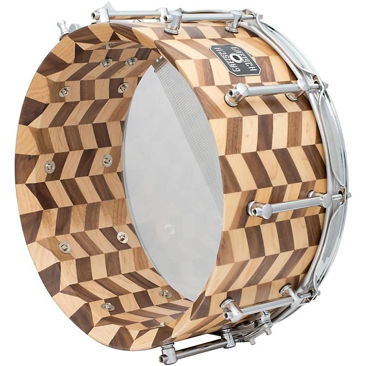 Gretsch DrumsGold Series Zig Zag Snare DrumMaple Walnut6.5x14