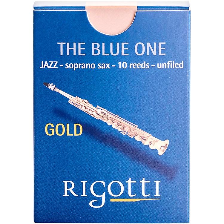 RigottiGold Soprano Saxophone ReedsStrength 3 Medium