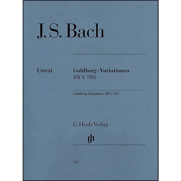 G. Henle VerlagGoldberg Variations BWV 988 By Bach