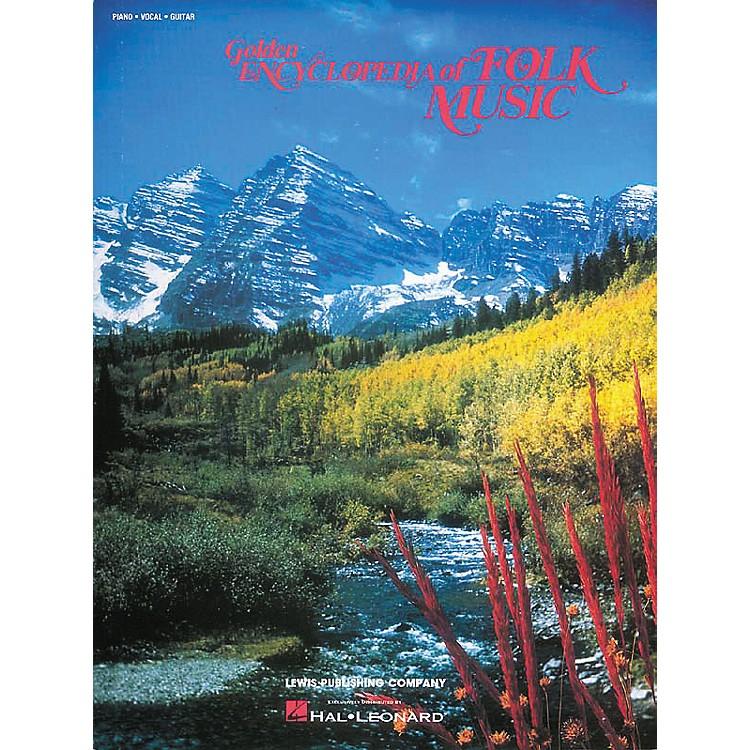 Hal LeonardGolden Encyclopedia Of Folk Music Piano/Vocal/Guitar Songbook