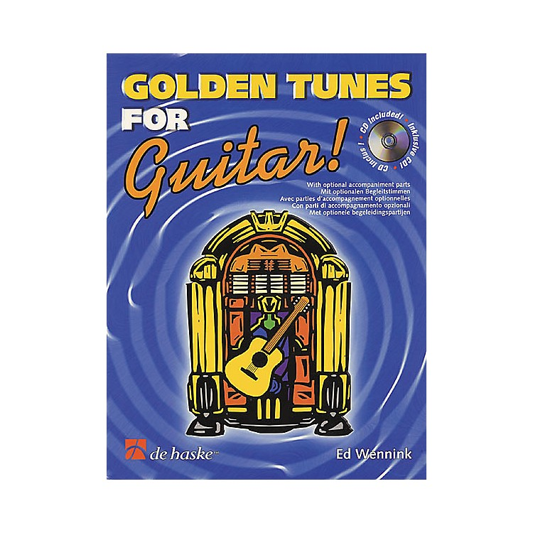 De Haske Music Golden Tunes for Guitar! Book with CD