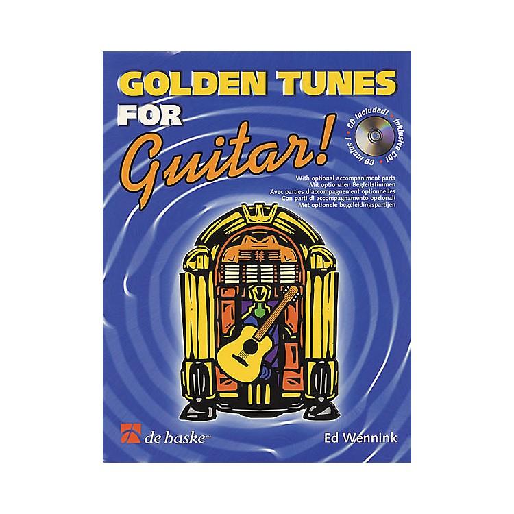 De Haske MusicGolden Tunes for Guitar! Book with CD