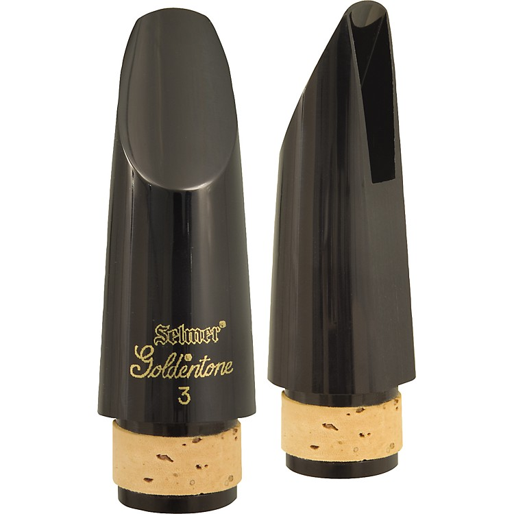 Selmer Goldentone Bb Clarinet Mouthpiece #3 Facing