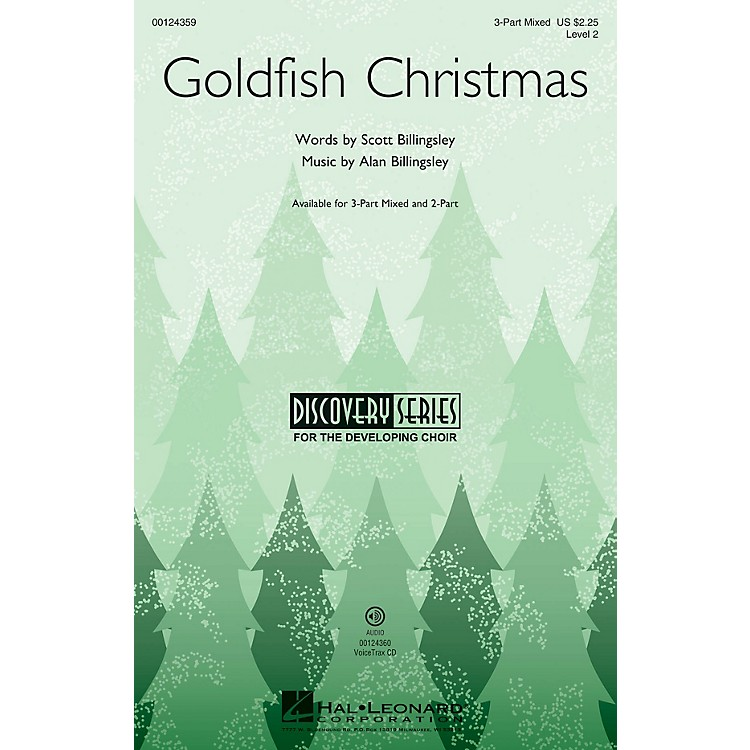 Hal LeonardGoldfish Christmas (Discovery Level 2) VoiceTrax CD Composed by Alan Billingsley