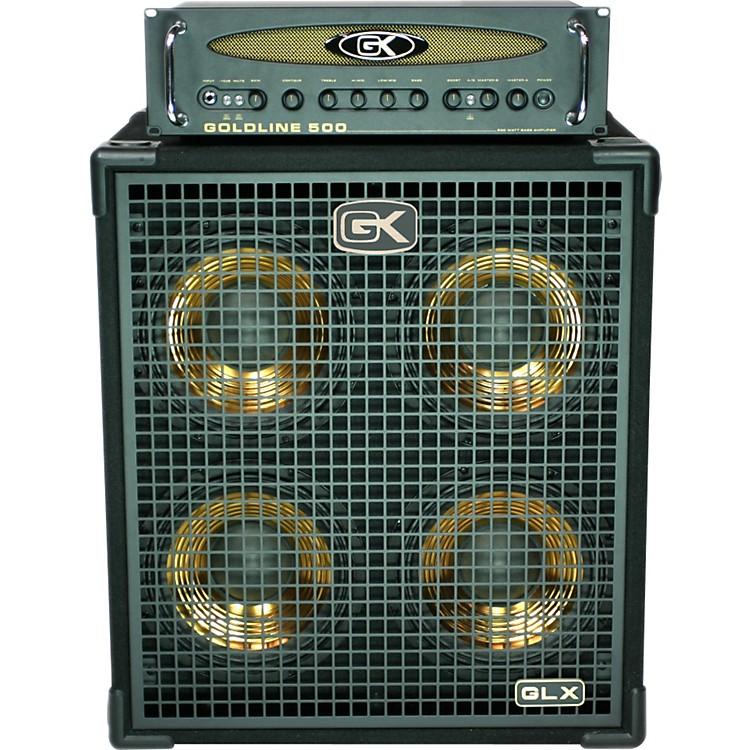 Gallien-Krueger Goldline 500 Bass Head and 4x10 Bass Cabinet ...