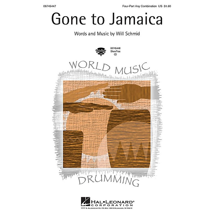 Hal LeonardGone to Jamaica ShowTrax CD