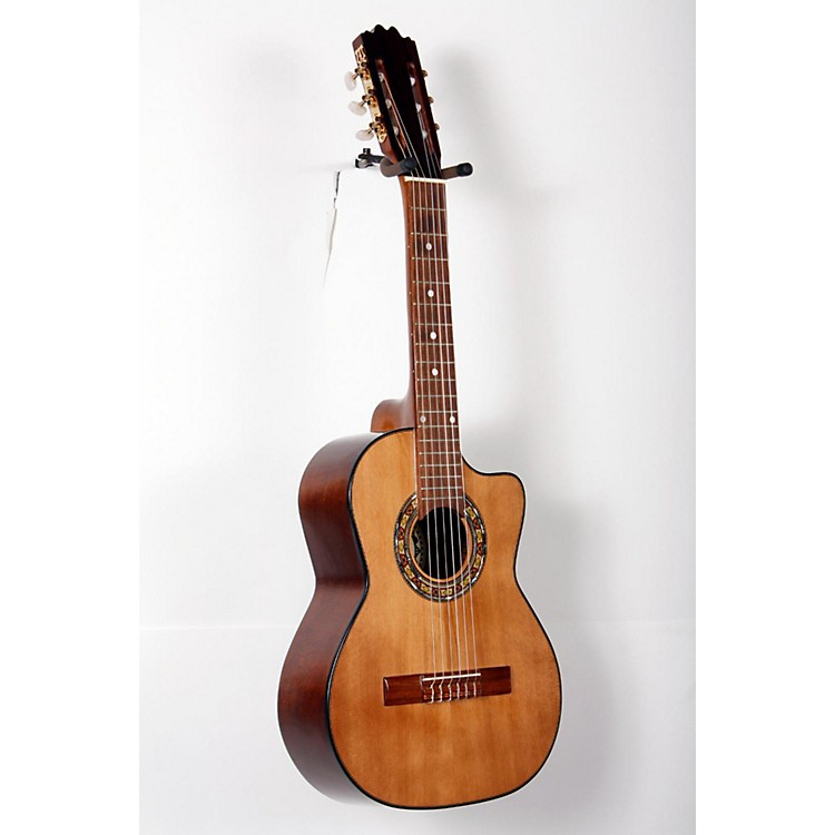 Paracho Elite Guitars Gonzales 6 String Requinto Natural 888365791715