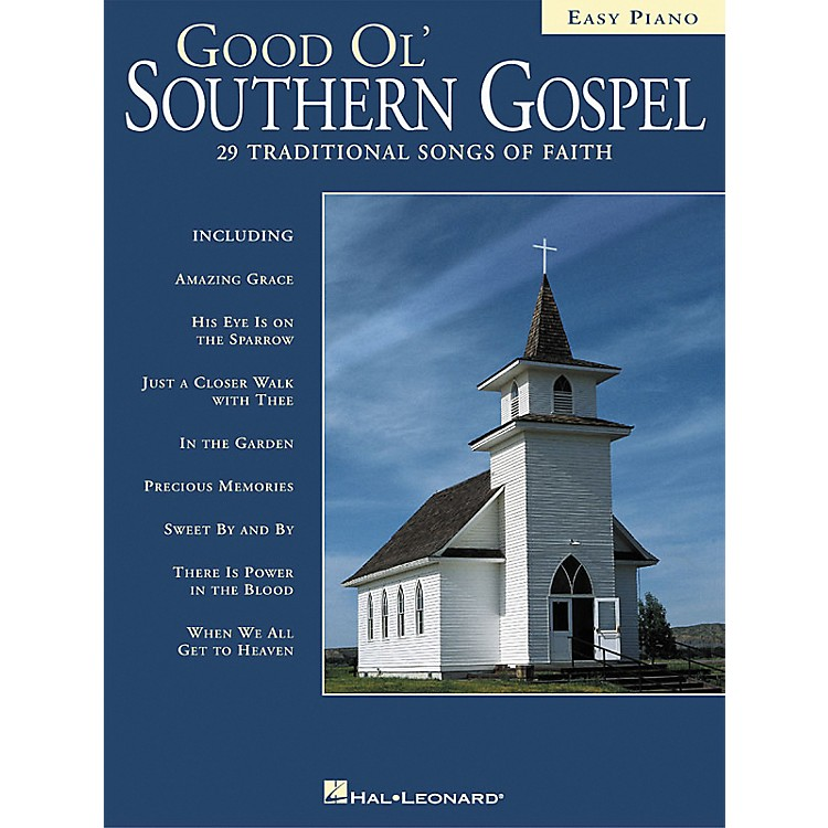 Hal LeonardGood Ol' Southern Gospel For Easy Piano