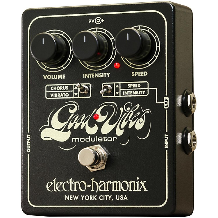 Electro-HarmonixGood Vibes Chorus/Vibrato Guitar Effects Pedal