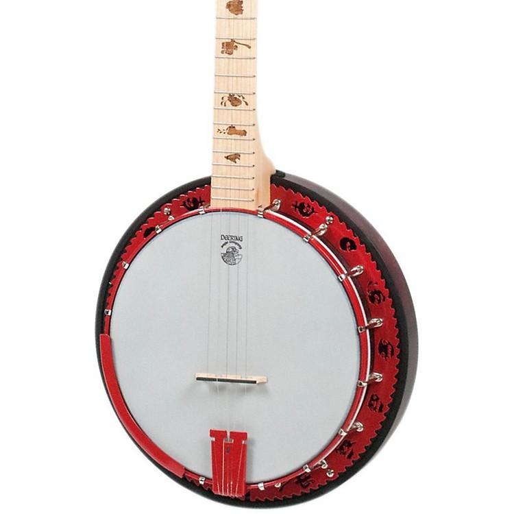 DeeringGoodtime 2 Zombie Killer 5-String BanjoZombie Inlays