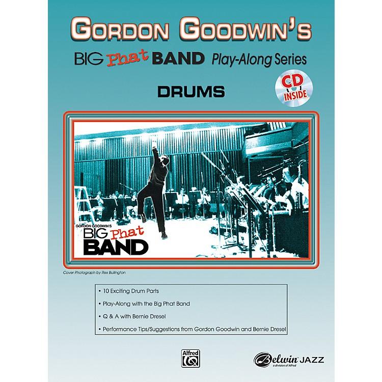 AlfredGordon Goodwin's Big Phat Band Play Along Series Drums Book & CD