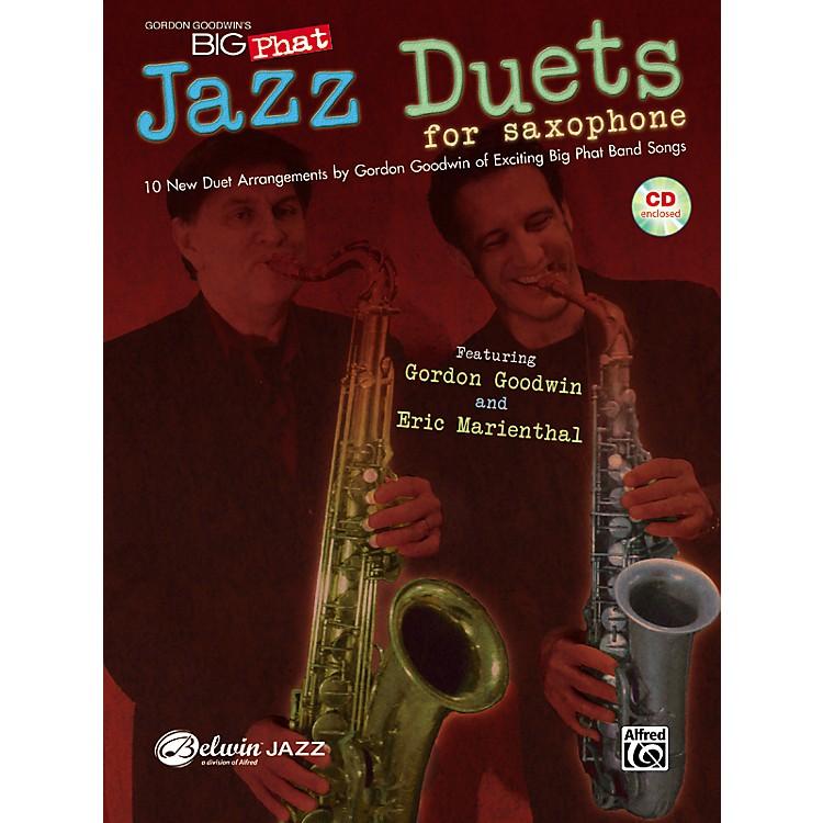 AlfredGordon Goodwin's Big Phat Jazz Saxophone Duets Book & CD