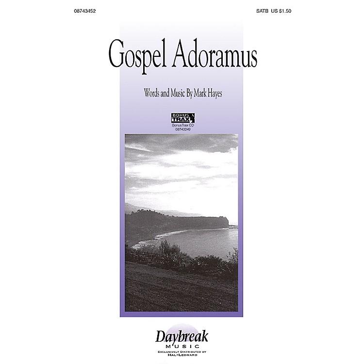 Hal LeonardGospel Adoramus SATB composed by Mark Hayes