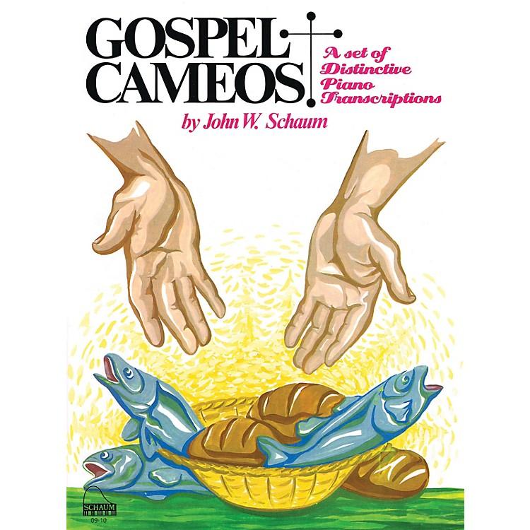 SCHAUMGospel Cameos Educational Piano Series Softcover