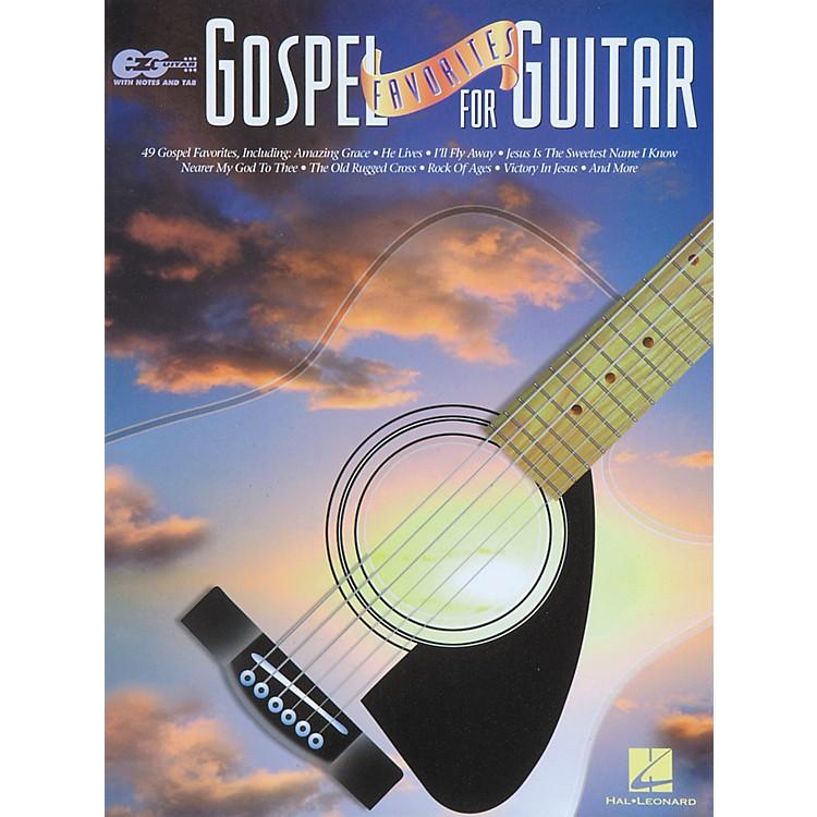Hal LeonardGospel Favorites for Guitar