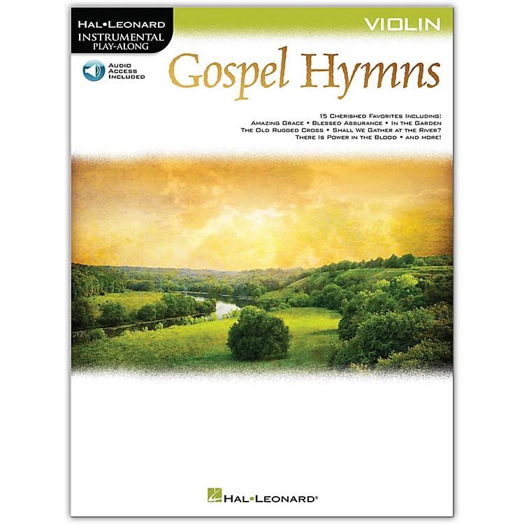 Hal LeonardGospel Hymns For Violin Instrumental Play-Along Book/Audio Online