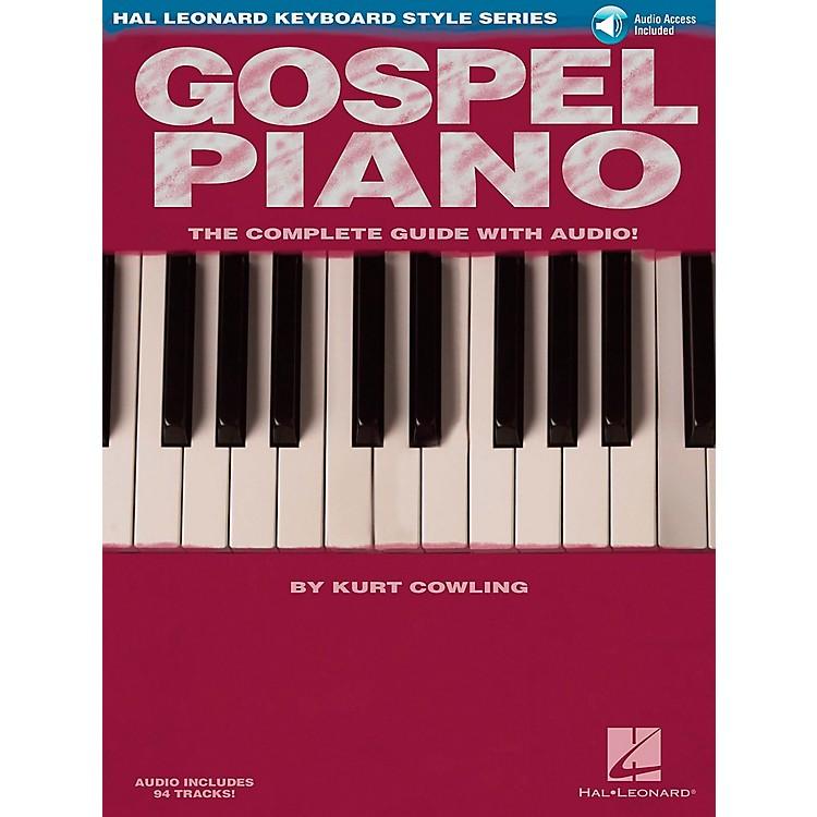 Hal LeonardGospel Piano Book/Online Audio
