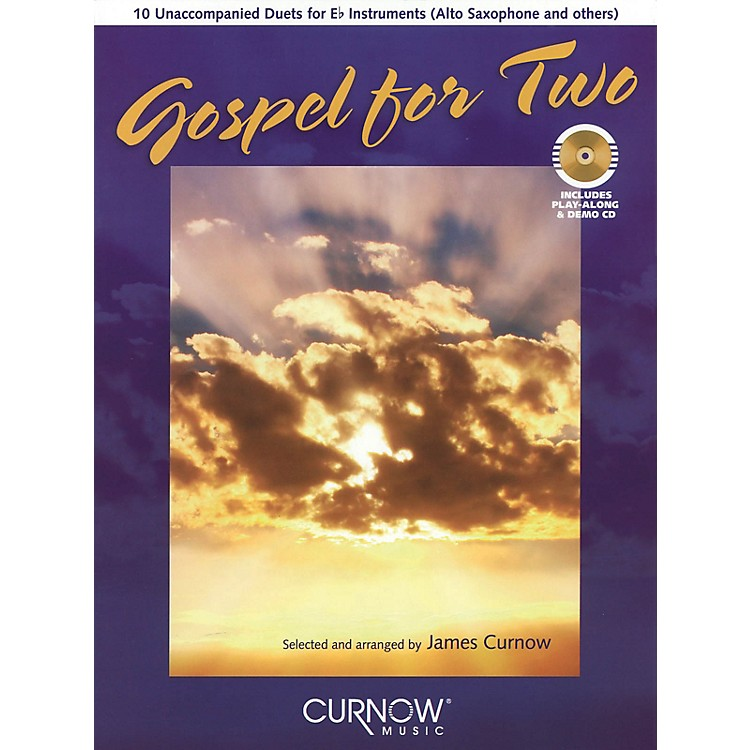 Curnow MusicGospel for Two (Bb Instruments) Curnow Play-Along Book Series