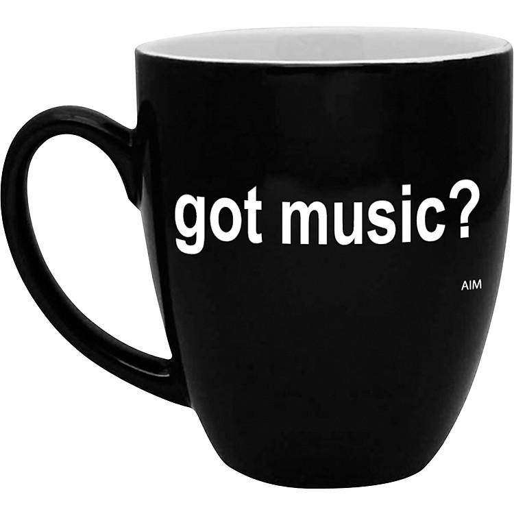 AIMGot Music? Black and White Bistro Coffee Mug
