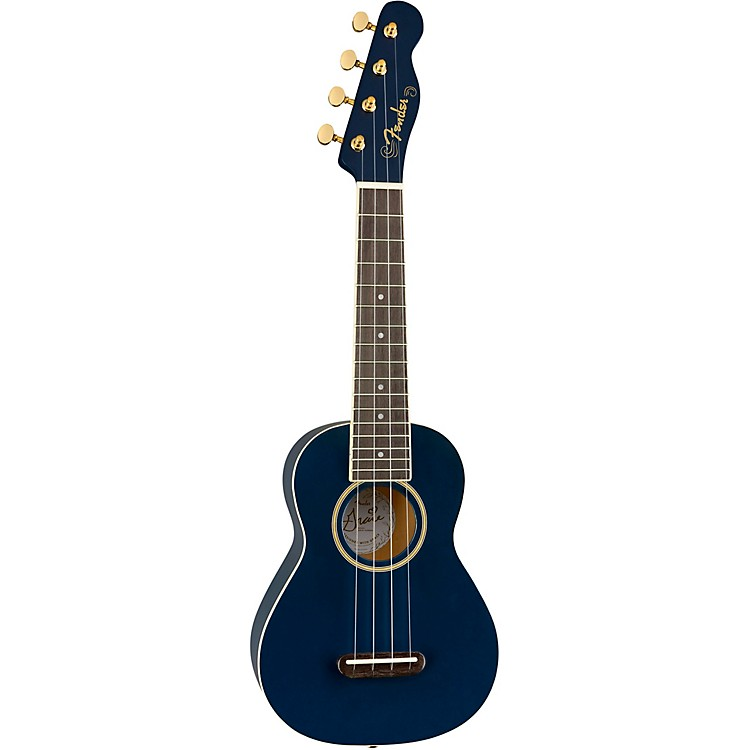 Fender Grace VanderWaal Moonlight Soprano Ukulele Navy Blue