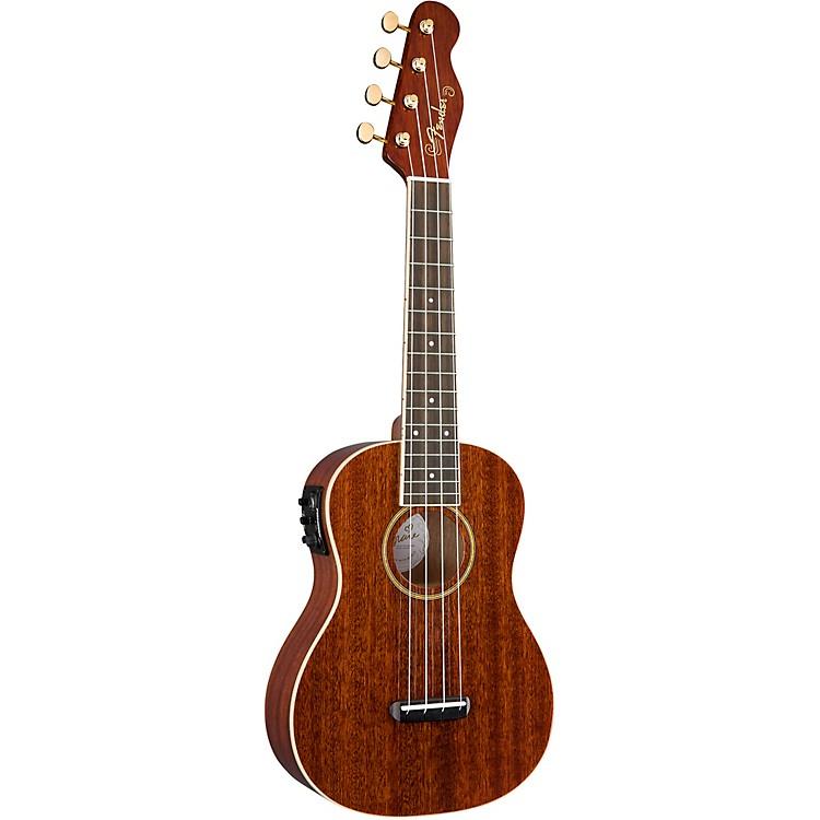 FenderGrace VanderWaal Signature Acoustic-Electric UkuleleWalnut