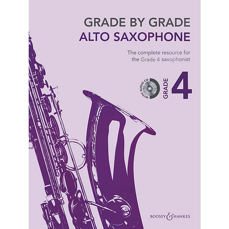 Boosey and HawkesGrade by Grade - Alto Saxophone (Grade 4) Boosey & Hawkes Chamber Music Series Book with CD