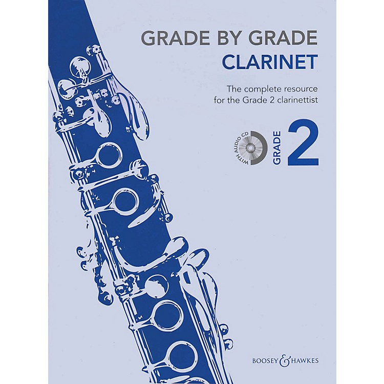 Boosey and Hawkes Grade by Grade - Clarinet (Grade 2) Boosey & Hawkes Chamber Music Series BK/CD