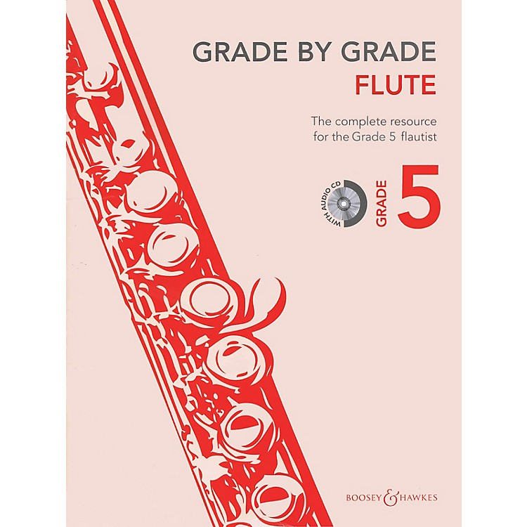 Boosey and HawkesGrade by Grade - Flute (Grade 5) Boosey & Hawkes Chamber Music Series Softcover with CD