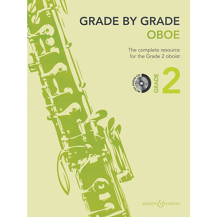 Boosey and HawkesGrade by Grade - Oboe (Grade 2) Boosey & Hawkes Chamber Music Series BK/CD