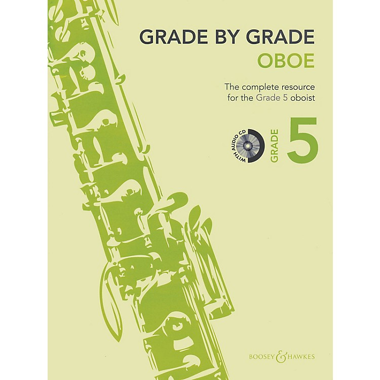 Boosey and HawkesGrade by Grade - Oboe (Grade 5) Boosey & Hawkes Chamber Music Series BK/CD