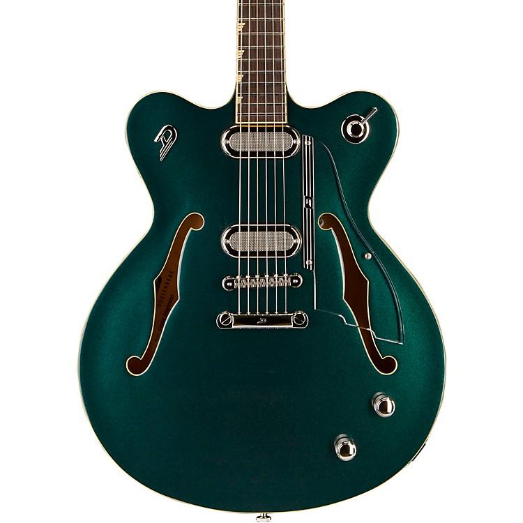 Duesenberg USAGran Majesto Double Cutaway Semi-Hollow Electric GuitarCatalina Green