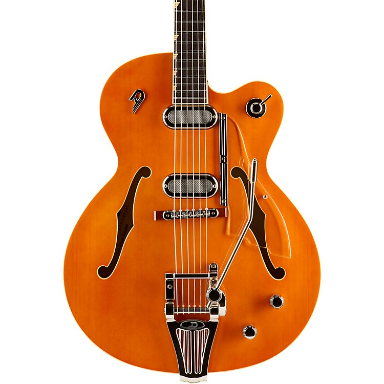 Duesenberg USA Gran Royale, 1 Cutaway Semi-Hollow Electric Guitar Vintage Orange