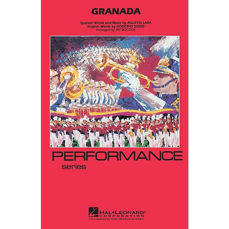 Hal LeonardGranada Marching Band Level 3-4 Arranged by Jay Bocook
