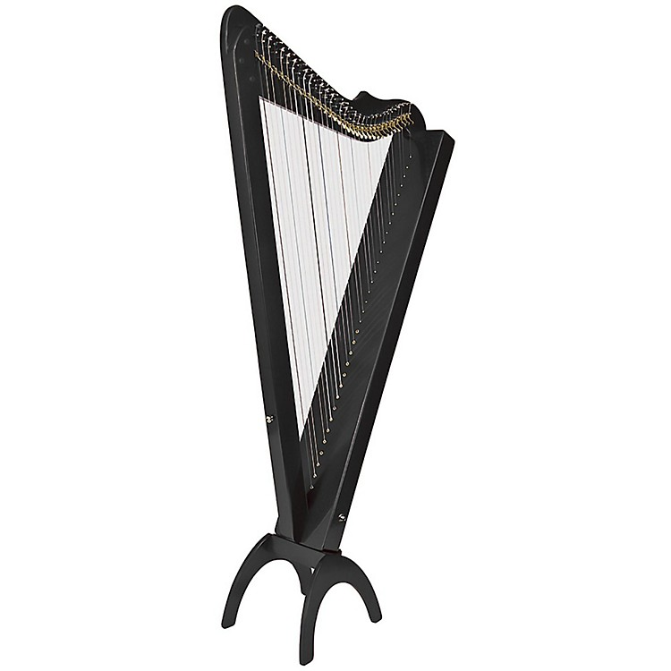 Rees Harps Grand Harpsicle Harp White