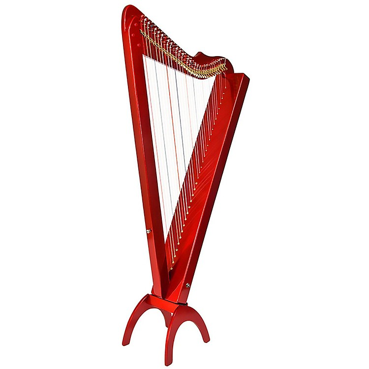 Rees Harps Grand Harpsicle Harp Red