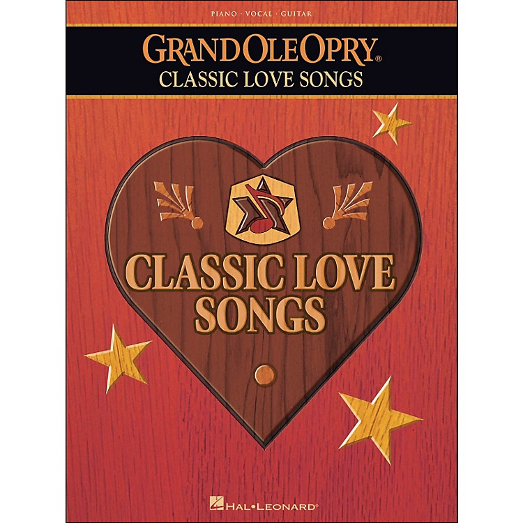 Hal LeonardGrand Ole Opry Classic Love Songs arranged for piano, vocal, and guitar (P/V/G)