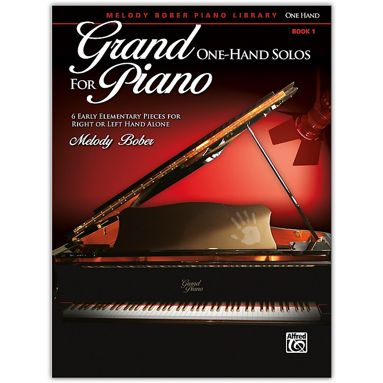 AlfredGrand One-Hand Solos for Piano, Book 1 Early Elementary