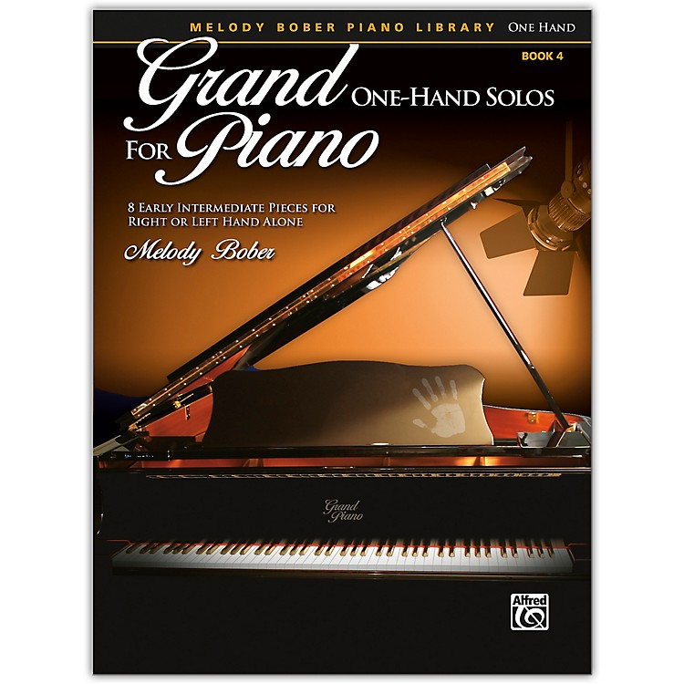 AlfredGrand One-Hand Solos for Piano, Book 4 Early Intermediate