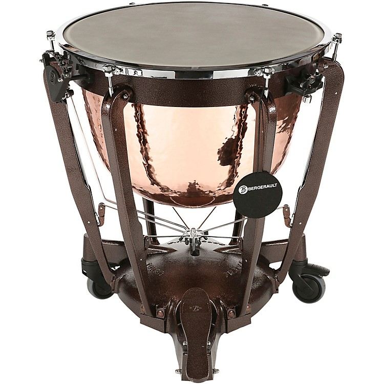 BergeraultGrand Professional Series Hand-Hammered Cambered Copper Bowl Timpani32 in.