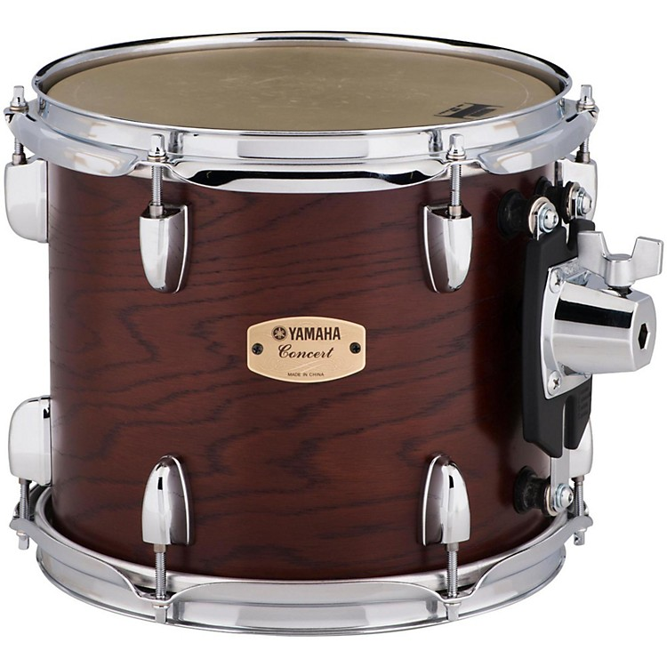 YamahaGrand Series Double Headed Concert Tom10 x 9 in.Darkwood Stain Finish