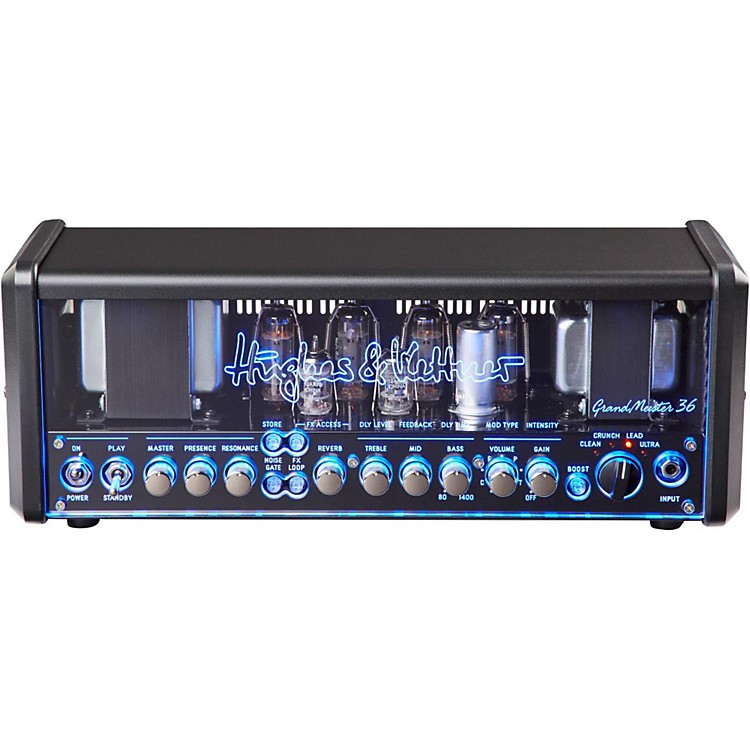 Hughes & Kettner GrandMeister 36W Tube Guitar Head Black 888365853062