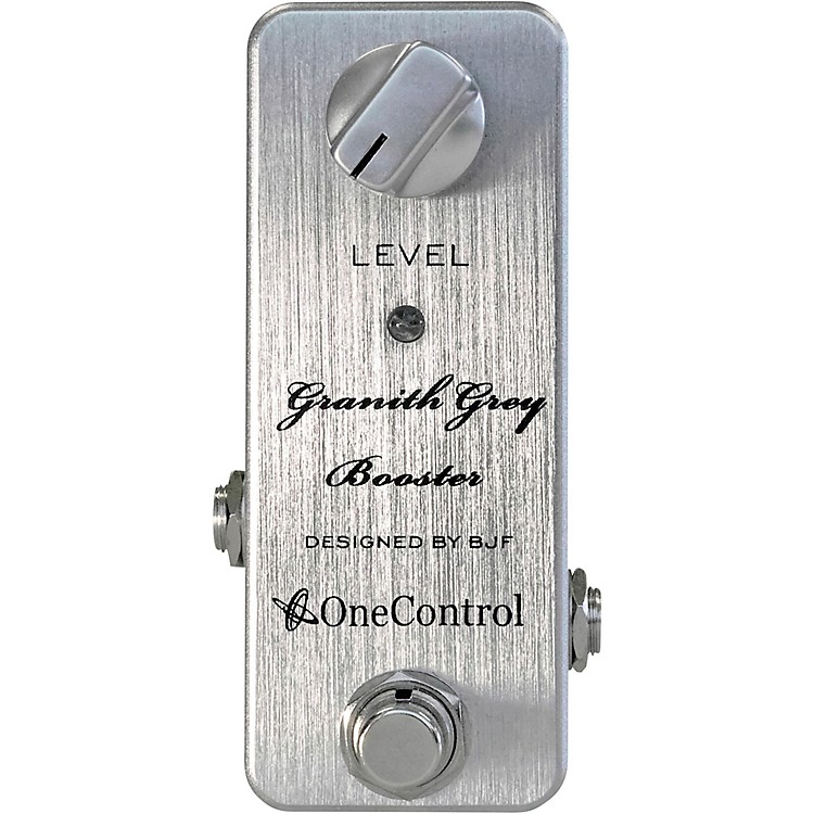 One ControlGranith Grey Booster Effects Pedal