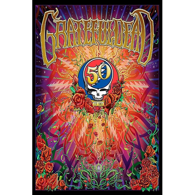Hal LeonardGrateful Dead 50th Anniversary Wall Poster